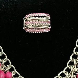 2 toned pink ring